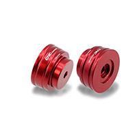 Contrapesos para manillar CNC Racing CM240 rojo