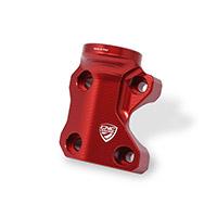 Abrazadera izquierda CNC Racing CV018 rojo
