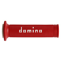 Domino A010 Grips Red White