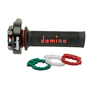 Comandos Gas Domino XM2 5176 Racing negro