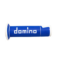 Domino A45041c Racing Handgrips Blue White