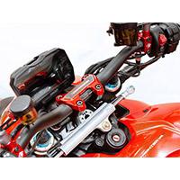 Abrazadera de manillar Ducabike BM14 SF4 roja