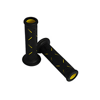 Progrip 717 Dd Open End Grips Yellow Black