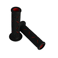 Progrip 717 Double Density Open End Grips Red Black