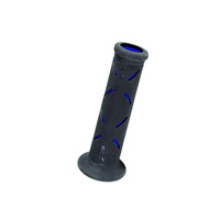 Progrip 717 Race Hard Compound Open End Grips Black Blue