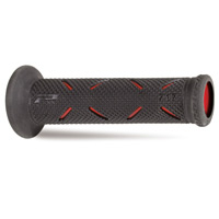 Progrip Manopole 717 Race Hard Compound Open End Rosso Nero