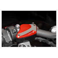 Ducabike Fluid Tank Caps Red