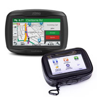Garmin Zumo 395 Travel Edition Con Staffa Dedicata