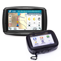 Garmin Zumo 595 Travel Edition With Custom Mount