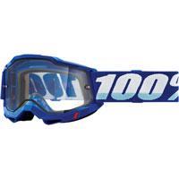 Maschera 100% Accuri 2 Enduro Blu Lente Chiara