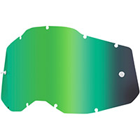 100% Racecraft2/accuri2/strata2 Lens Green