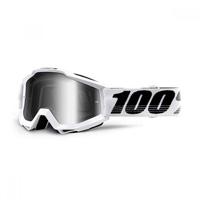 100% Accuri Google Galactica Mirror Silver Lens