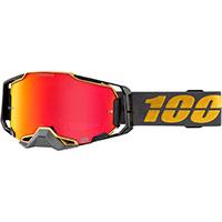 Maschera Cross 100% Armega Falcon5 Hiper Vision