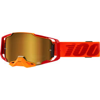 Off Road Goggles 100% Armega Litkit Mirror Lens