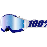 100% Accuri Google Calgary Mirror Blue Lens