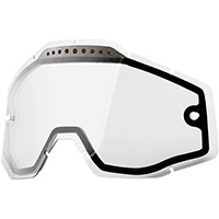 100% Dual Vented Clear Lens