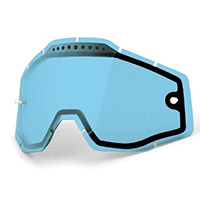 100% Dual Vented Racecraft/accuri/strata Lens Blue