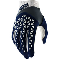 100% Airmatic Mx Glove Navy