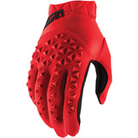 100% Airmatic Mx Glove Red