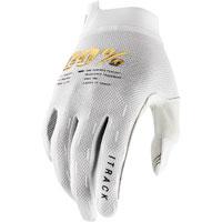 100% Itrack Mx Glove White