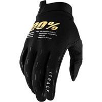100% Itrack Mx Glove Black