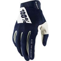 100% Ridefit Mx Glove Navy