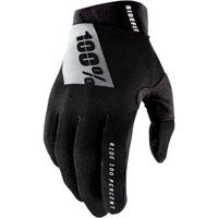 100% Ridefit Mx Glove Black