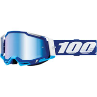 Off Road Goggles 100% Racecraft 2 Blue Blue Mirror