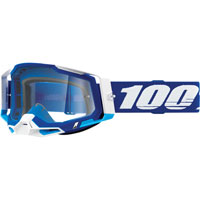 Off Road Goggles 100% Racecraft 2 Blue Clear Lens
