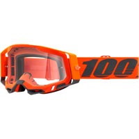 Masque Cross 100% Racecraft 2 Kerv Lentille Claire