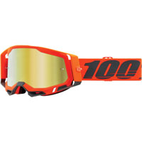 Off Road Goggles 100% Racecraft 2 Kerv Gold Mirror