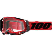 Off Road Goggles 100% Racecraft 2 Red Clear Lens