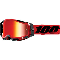 Off Road Goggles 100% Racecraft 2 Red Red Mirror
