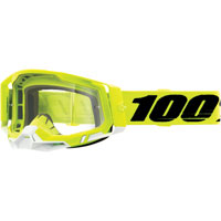Off Road Goggles 100% Racecraft 2 Yellow Clear Lens