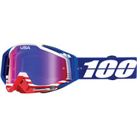 Maschera Cross 100% Racecraft Anthem