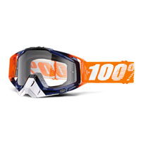 100% Racecraft Crush - Clear Lens