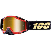 100% Racecraft Hot Rod Mirror Gold Lens