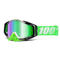 100% Racecraft Mirror Organic-green