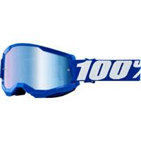 Maschera 100% Strata 2 Blue Lente Blu