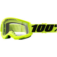 Masque 100% Strata 2 Fluo Yellow Lentille Claire