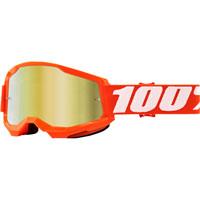 Maschera 100% Strata 2 Orange Lente Oro