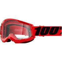 Maschera 100% Strata 2 Red Lente Chiara