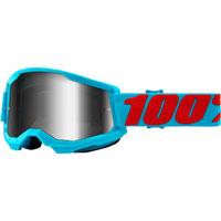Maschera 100% Strata 2 Summit Lente Specchio