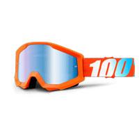 100% Strata Orange Mirror Blu