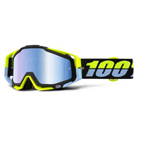 100% Racecraft Mirror Antigua - Blue