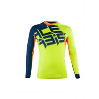 Acerbis Airborne Special Edition Fluo Yellow Blue Jersey 2018
