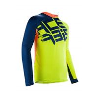 Acerbis Airborneスペシャルエディションfluo yellow blue jersey 2018