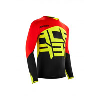 Acerbis Alfa X-flex Red And Black Jersey 2018