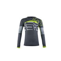 Acerbis Carbon Flex Gear Jersey 2018 Nero Giallo Fluo