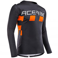 Acerbis Checkmate Jersey Black Orange
